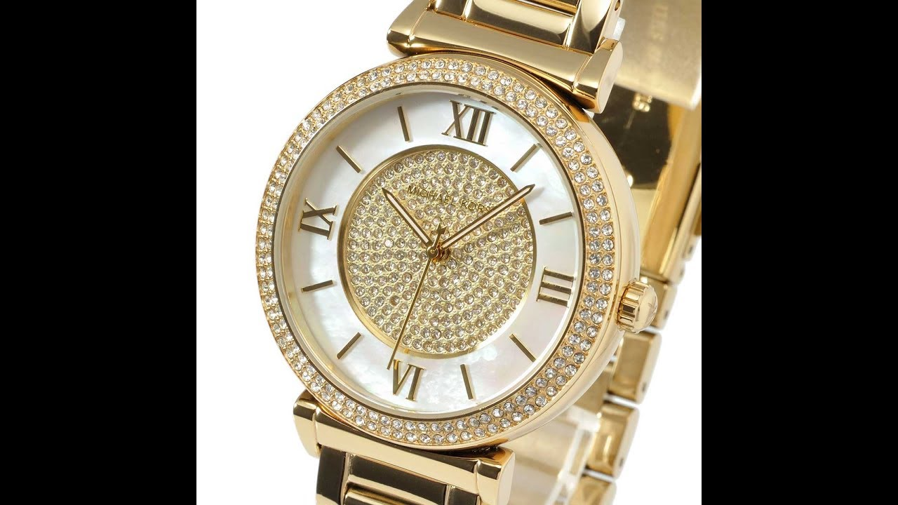 57ae1d227f5a MICHAEL KORS MK3332 LADIES WATCH CATLIN MOTHER OF PEARL DIAL GOLD MK3332  マイケルコース カトリン ゴールド レディース腕時計