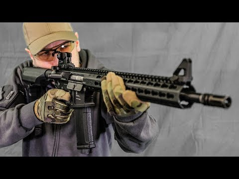 MOST REALISTIC AIRSOFT RIFLE? PTS Mega CQB Arms Review