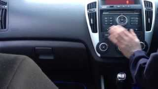 Parrot Bluetooth Installation in a Kia Ceed
