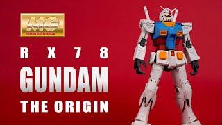 機動戦士ガンダムTHE ORIGIN MG 1/100 RX-78-02 ガンダムPlease like share and subscribe ! \( ̄︶ ̄*\))