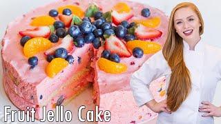 Jello Fruit Mousse Cake