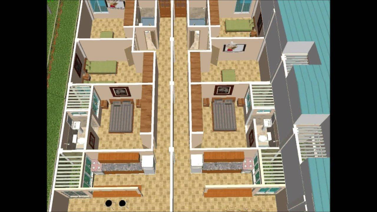 Recorrido primer piso apartamentos 1 y 2 youtube Departamentos de dos pisos