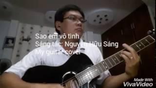 Sao em vô tình - Guitar cover