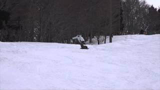 2015/03/07、湯殿山スキー&ボードスクールのメイトレッスンを撮影しま...