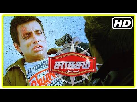 Saahasam Tamil movie | Climax Scene | Sonu Sood killed | Prasanth decides to go to work | End Credit