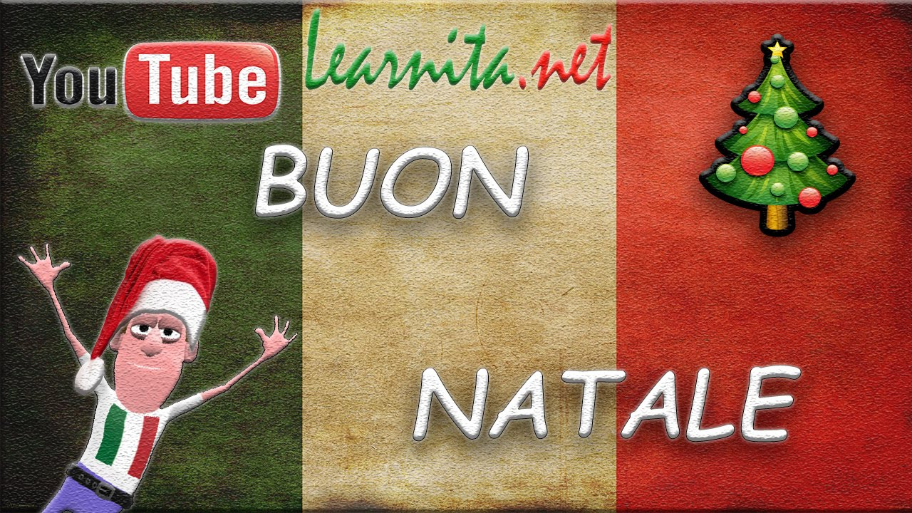 how to say merry christmas in italian language
