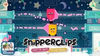 Snipperclips: Cut It Out, Together! - Silly Science Complete, THE END (Nintendo Switch Gameplay)