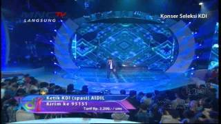 "Video Aidil "" Dahsyat "" Makassar - Konser Seleksi KDI 2015 (16/3) download MP3, 3GP, MP4, WEBM, AVI, FLV Desember 2017"