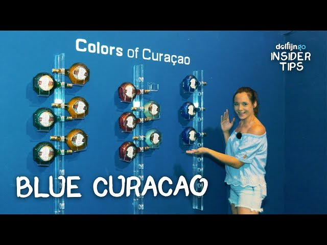BLUE CURAÇAO PROEVEN IN HARTJE WILLEMSTAD