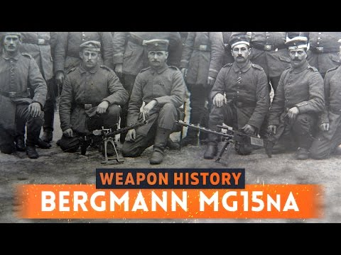 ► BERGMANN MG15 n.A MACHINE GUN! - Battlefield 1 Weapon History