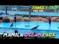 MANILA OCEAN PARK Fish Spa,Huge Aquarium, Sea Lion Show and Light Show Tour
