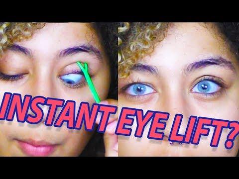 INSTANT EYE LIFT?! Testing Eyelid Tape for Hooded Eyes