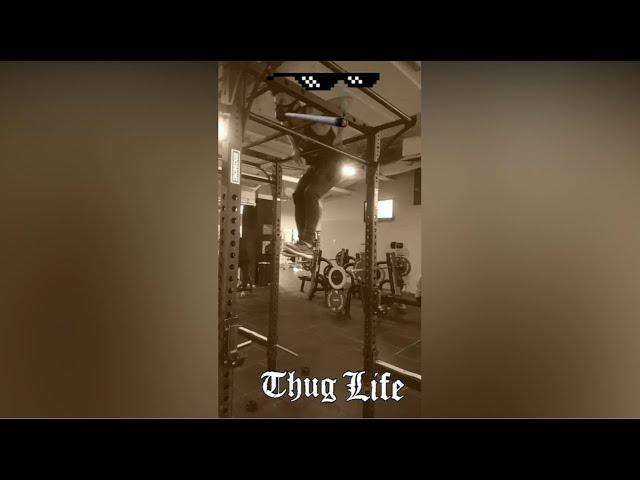 Thug  muscleups
