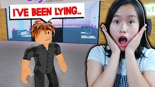 My EX BOYFRIEND Has a SECRET.. (Roblox Bloxburg Roleplay)