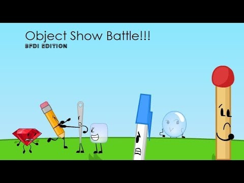 Object show battle - BFDI edition!