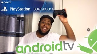 HOW TO CONNECT PLAYSTATION DUALSHOCK 4 CONTROLLER ON SONY BRAVIA ANDROID TV