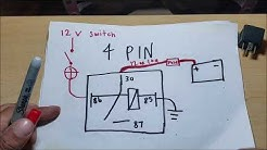 automotive 4 pin and 5 pin RELAY EXPLAINED which one?