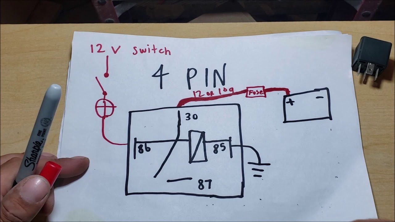 Automotive 4 Pin And 5 Pin Relay Explained Which One Youtube
