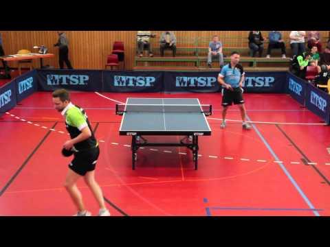 Tischtennis TSG Heilbronn: Adrian Klosek VS. Josef Braun (SV Neckarsulm) (HD)
