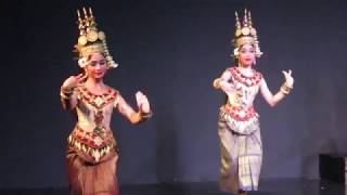 CAMBODIA:  PHNOM PENH:  NATIONAL DANCE ENSEMBLE:  1: OPENING DANCES