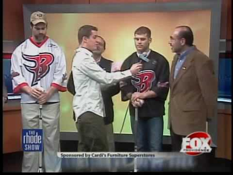 The Boston Blazers visit The Rhode Show