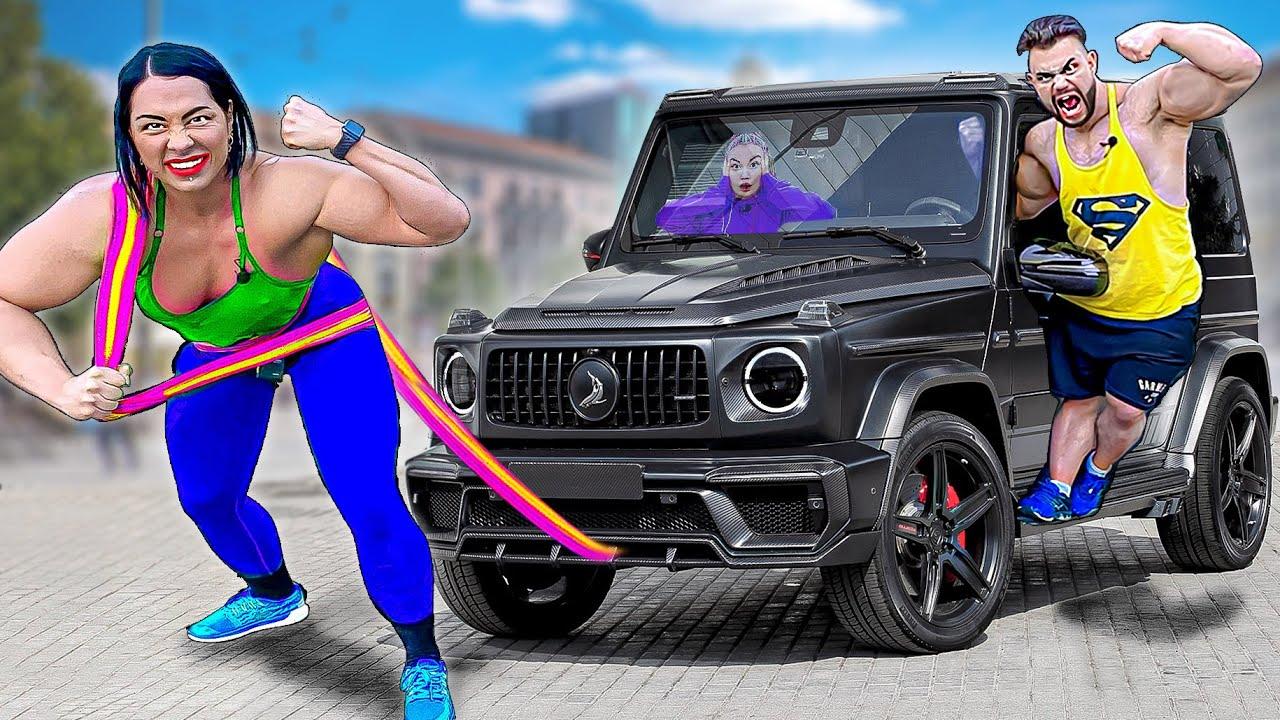 Самая Сильная Женщина В Мире VS Самый Сильный Человек В Мире -  Челлендж !