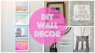 Diy Wall Decor (easy & Cheap)