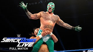 FULL MATCH - Rey Mysterio vs. Andrade - 2-out-of-3 Falls Match: SmackDown, Jan. 22, 2019