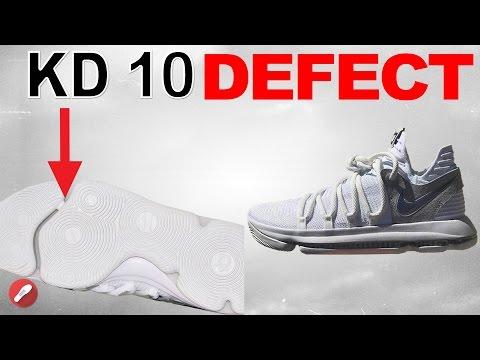 Nike Kd 10 Cushion Defect Still Not Fixed?!