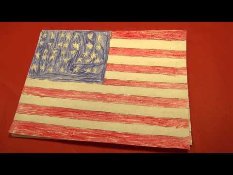 History of American Flag Paper Slideshow