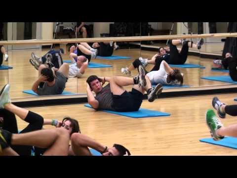 Z-Fanatical Fitness Abs Workout At RWJ Fitness & Wellness Center