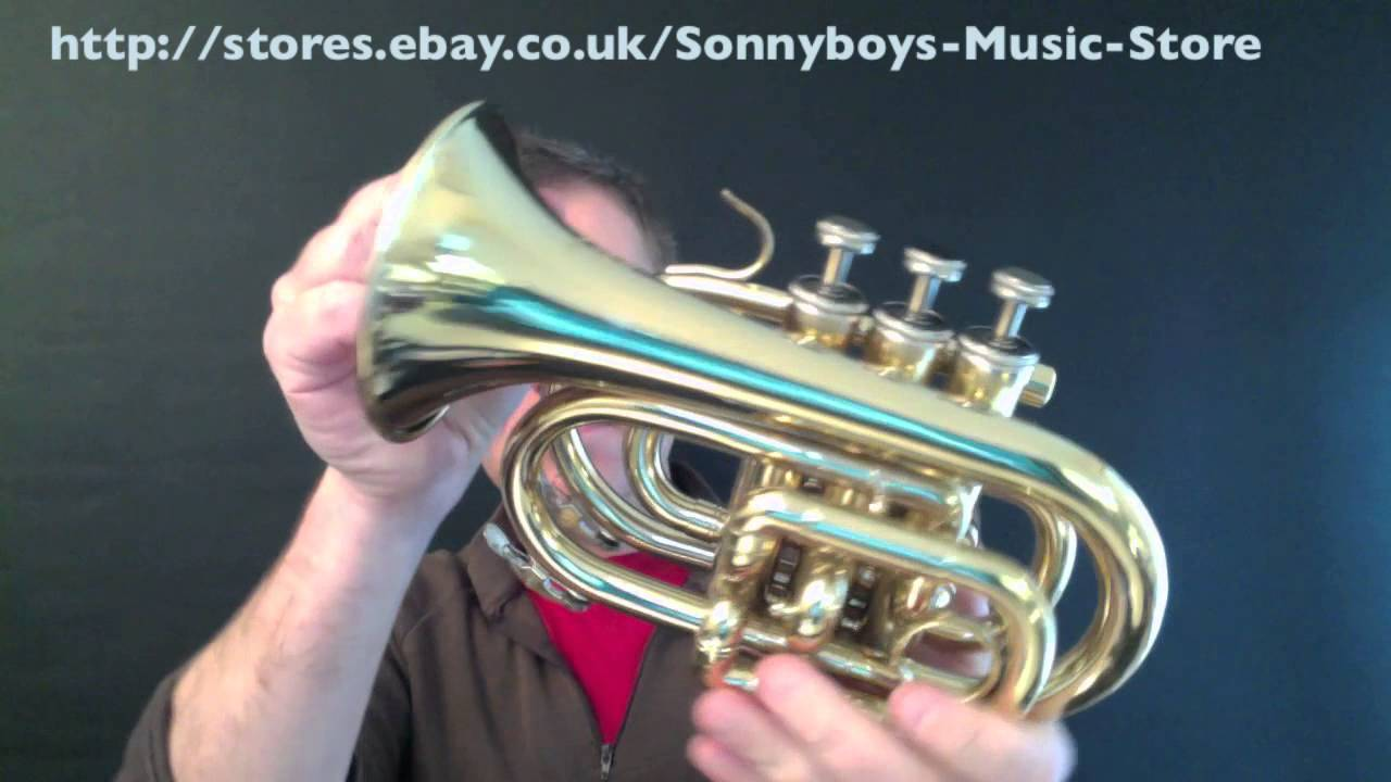 how to play the cornet for beginners