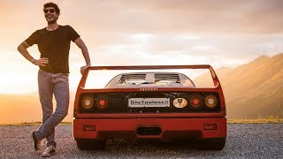 Ferrari F40: My TwinTurbo Dream came true - Davide Cironi (SUBS)