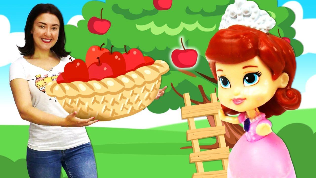 Видео для детей: Веселая школа— Куклы Принцесса София иЛОЛ собирают урожай иготовят варенье