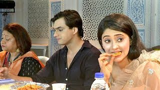 Shivangi Joshi And Mohsin Khan Iftar Party 2019 On Yeh Rishta Kya Kehlata Hai Sets