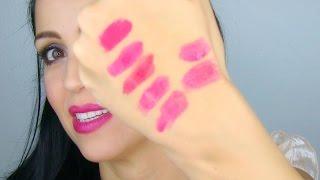 Labiales Y Esmaltes Color Sangria - Mini Haul Color Del Año