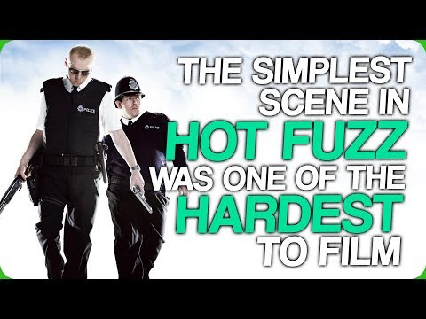 The Simplest Scene in Hot Fuzz was One of the Hardest to Film