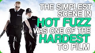 The Simplest Scene in 'Hot Fuzz' was One of the Hardest to Film