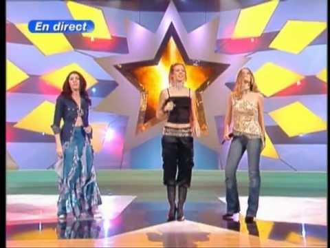 Lorie & Nolween & Emma Daumas   Toute seule Star Academy 2   TF1   2002