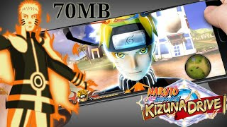( 70 MB ) Naruto Shippuden : Kizuna Drive | Download For Android | PPSSPP Mod