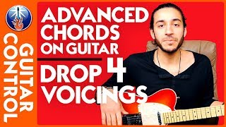 Advanced Chords on Guitar   Drop 4 Voicings