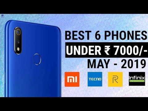 top-6-smartphones-under-7000-|-best-4g-budget-phones-|-entry-level-phones-upto-7000-(2019)