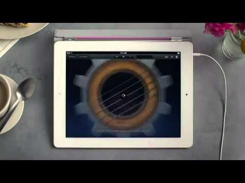 Chơi các loại nhạc cụ trên iPad 2   TapChiApple