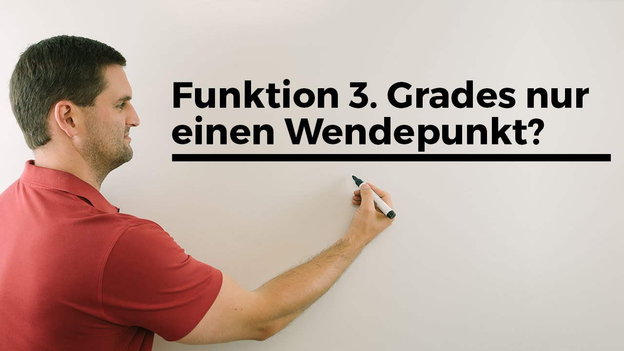 warum hat eine funktion 3 grades nur einen wendepunkt polynomfunktionen mathe by daniel jung. Black Bedroom Furniture Sets. Home Design Ideas