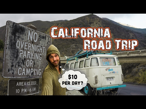 CALIFORNIA ROAD TRIP on $10 Per day - IS IT POSSIBLE? - Hasta Alaska - S04E04
