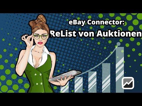 tricoma - eBay Connector - Auktionen ohne Verkauf ReListen