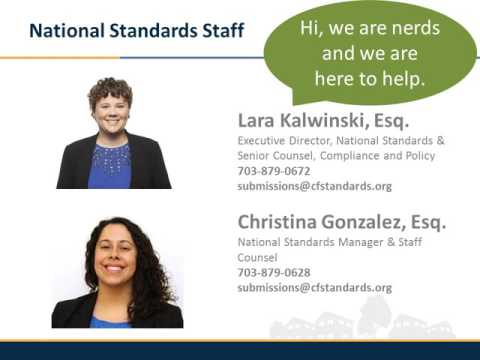 Introduction to National Standards for U.S. Community Founda