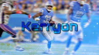"Kerryon Johnson   ""Plug Walk""   2019-20 Pump Up"