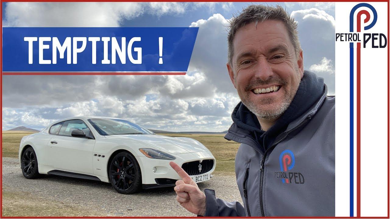 Ferrari V8 soundtrack for Mini money ! [One Take Maserati Review]