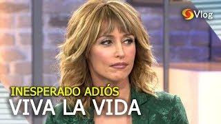 La inesperada despedida de Emma García y Viva la vida de telecinco